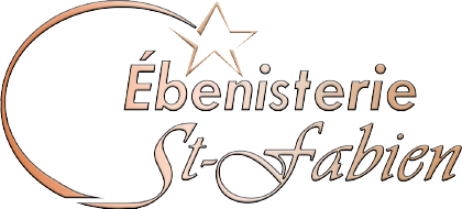Ébénisterie St-Fabien Logo OR